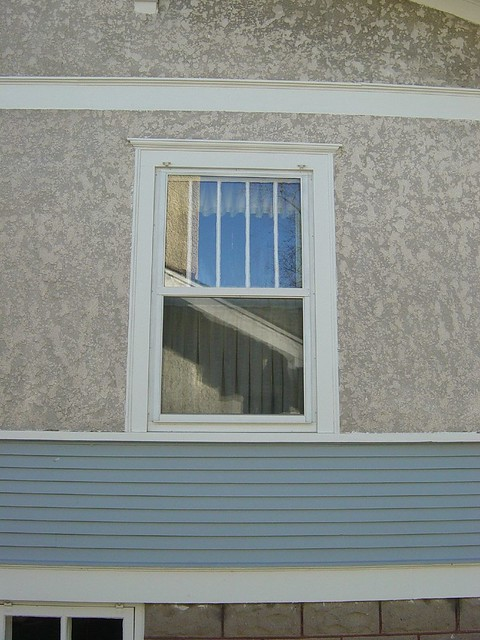 Stucco siding flickr photo sharing for Stucco or siding