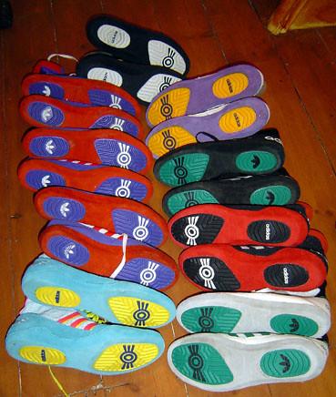 Rare Wrestling Shoes