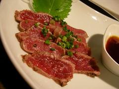 Mutton sashimi