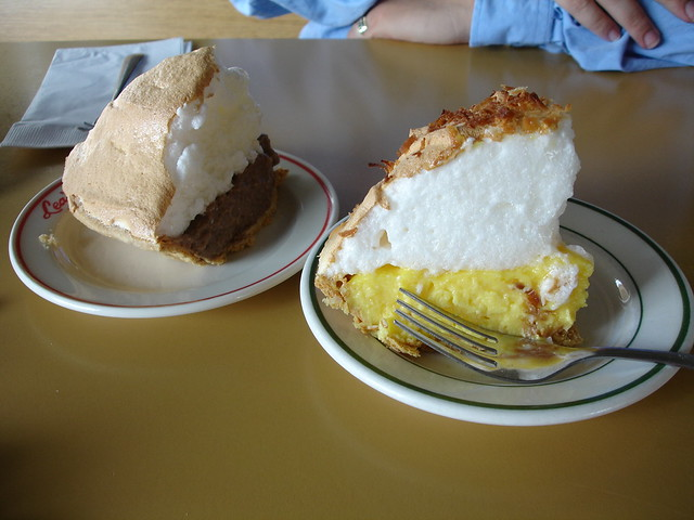 Pie at Lea's Lunchroom in Lecompte, LA