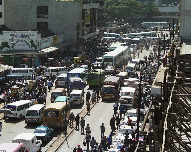 Nairobi Traffic Jam
