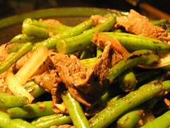 Green Beans and Beef