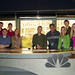 My CO281 Class at the NBC5 Newsdesk