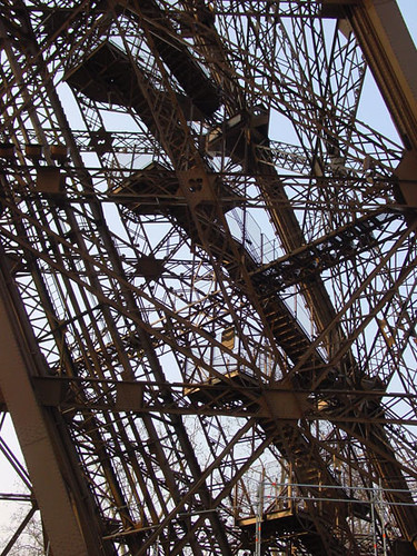 Eiffel Tower Stairs : Stairs of the eiffel tower flickr photo sharing
