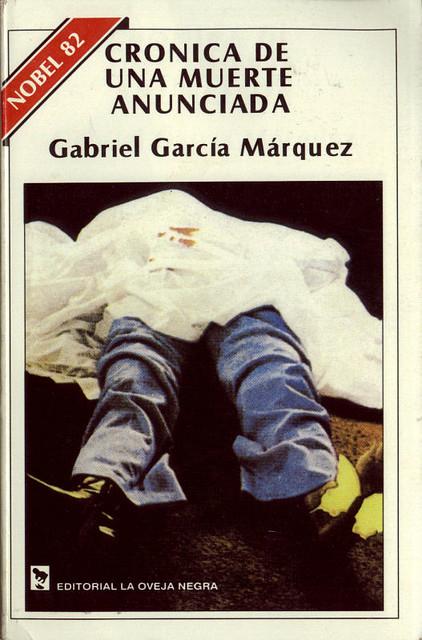 Crónica de una muerte de Gabriel García Márquez