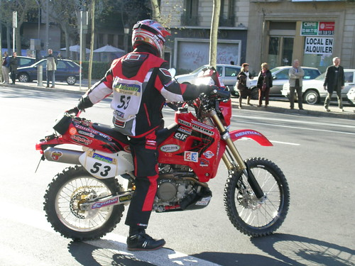 Paris Dakar Motorcycle
