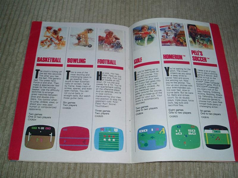 Old Atari Booklet