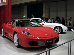 automobile(1.0), vehicle(1.0), performance car(1.0), automotive design(1.0), ferrari f430(1.0), ferrari 360(1.0), land vehicle(1.0), luxury vehicle(1.0), supercar(1.0), sports car(1.0),