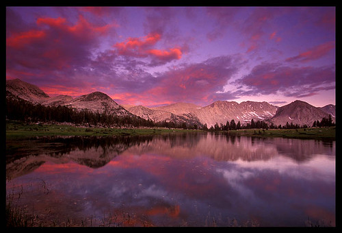 Pioneer Basin Sunset, High Sierra