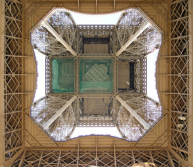 Eiffel tower - From below