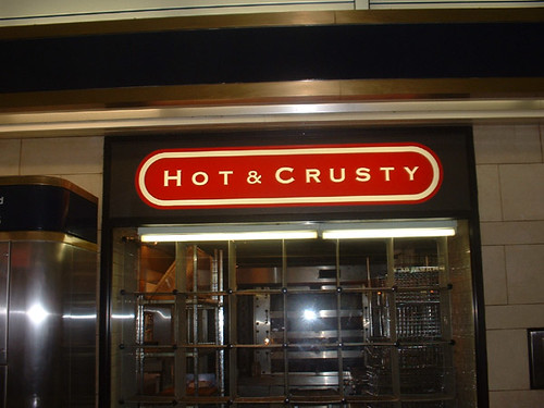 hot and crusty
