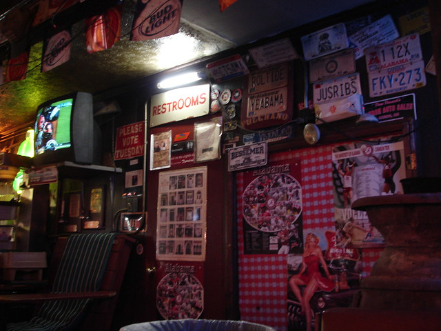 Interior, Dreamland in Tuscaloosa (the original)