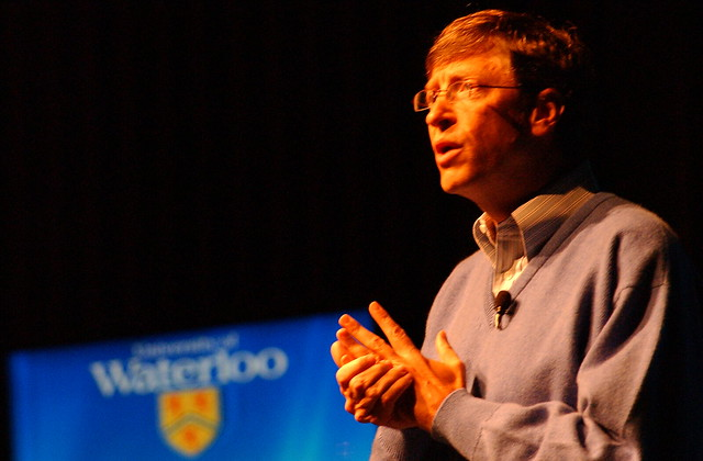 Bill Gates @ the University of Waterloo from Flickr via Wylio