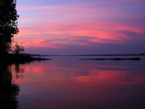 sunset sc southcarolina lakemarion santeestatepark