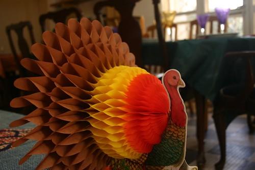 obligatory turkey decoration