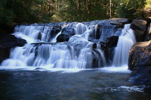 longexposure water creek canon flow waterfall rocks rocky falls thundering