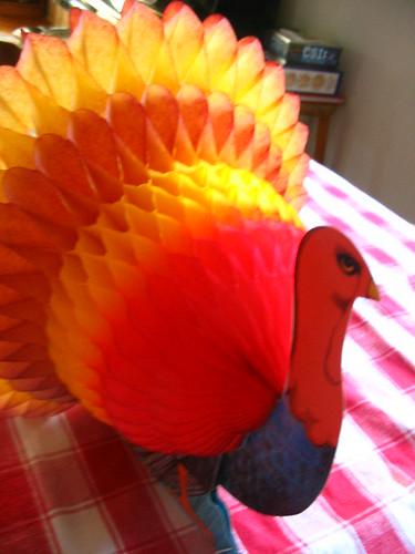 My paper turkey centerpiece flickr photo sharing