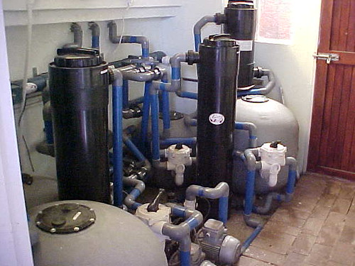 Koi pond sand filter sand filter air filter products for Koi pond sand filter