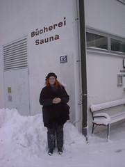 Public library and sauna in Hallstatt, 2