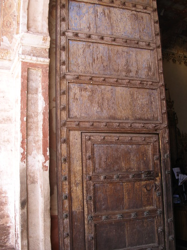 Peruvian Church Door