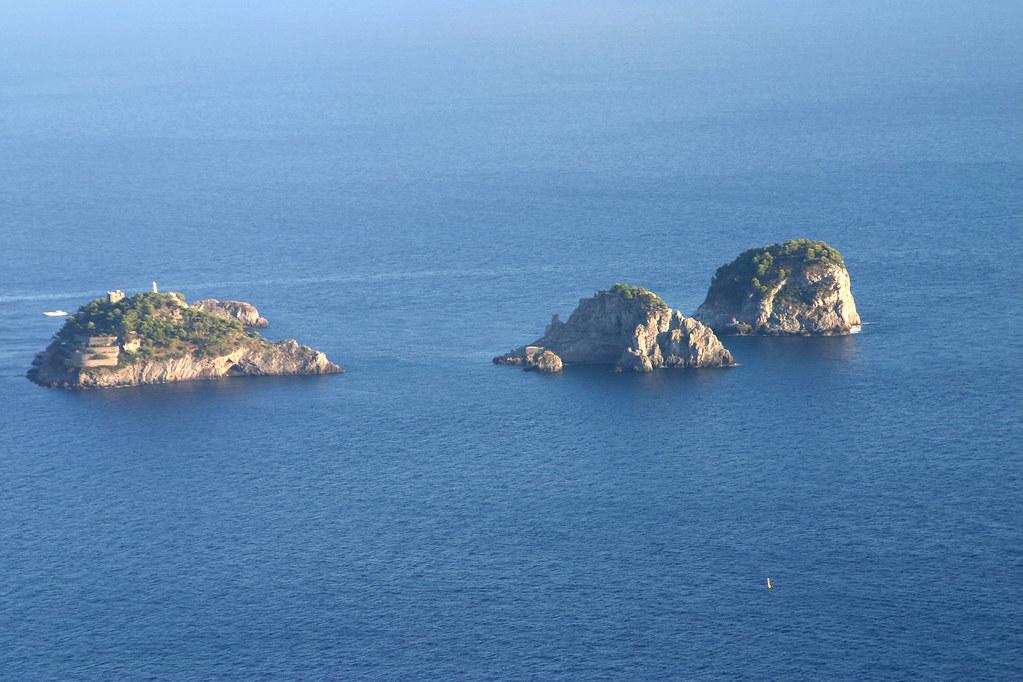 islas de Li Galli