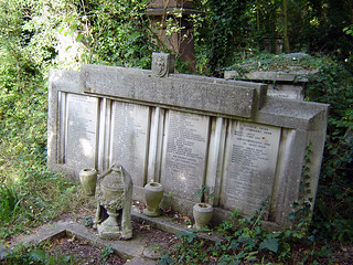 Blitz Memorial, Abney Park Cemetery, Stoke Newington