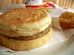 snickerdoodle(0.0), crumpet(0.0), produce(0.0), breakfast sandwich(0.0), dessert(0.0), meal(1.0), breakfast(1.0), baked goods(1.0), food(1.0), english muffin(1.0), dish(1.0), cuisine(1.0),