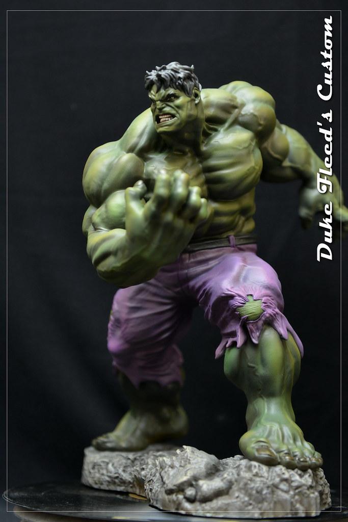 Hulk Kotobukiya repeint  18711126574_766bb0c80d_b