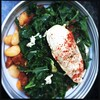Poached Chicken, Kale, Butter Beans, Chorizo