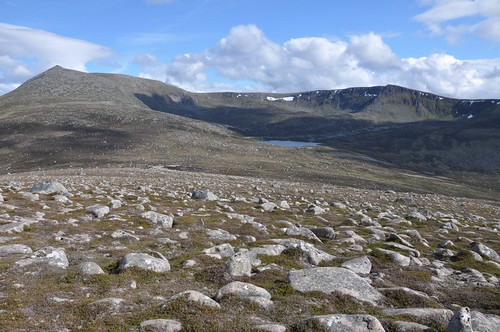 Lochnagar and the Stuic from Meall an Tionail