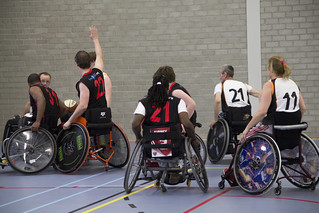 Wheelchair Basketball: Ronald McDonald Centre Only Friends