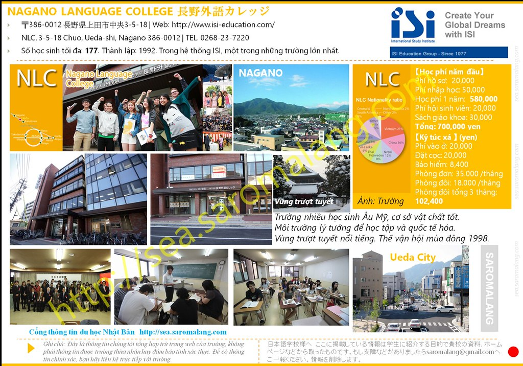 Nagano Language College NLC