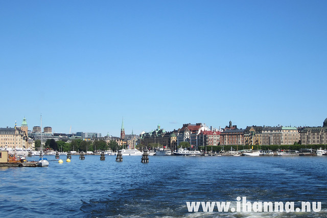 Stockholm City from the waterfront - photo by iHanna