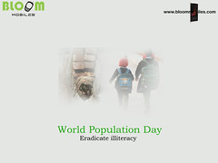 eradicate-illiteracy-world-population-day-bloom-mobiles