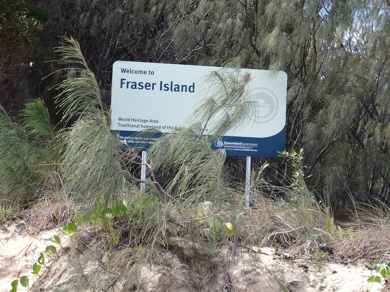 """Welcome to Fraser Island"""