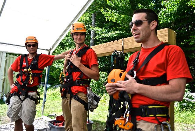 safety explanation - Arbor Trek Smugglers Notch, Vermont