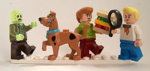 LEGO Scooby Doo minifigures