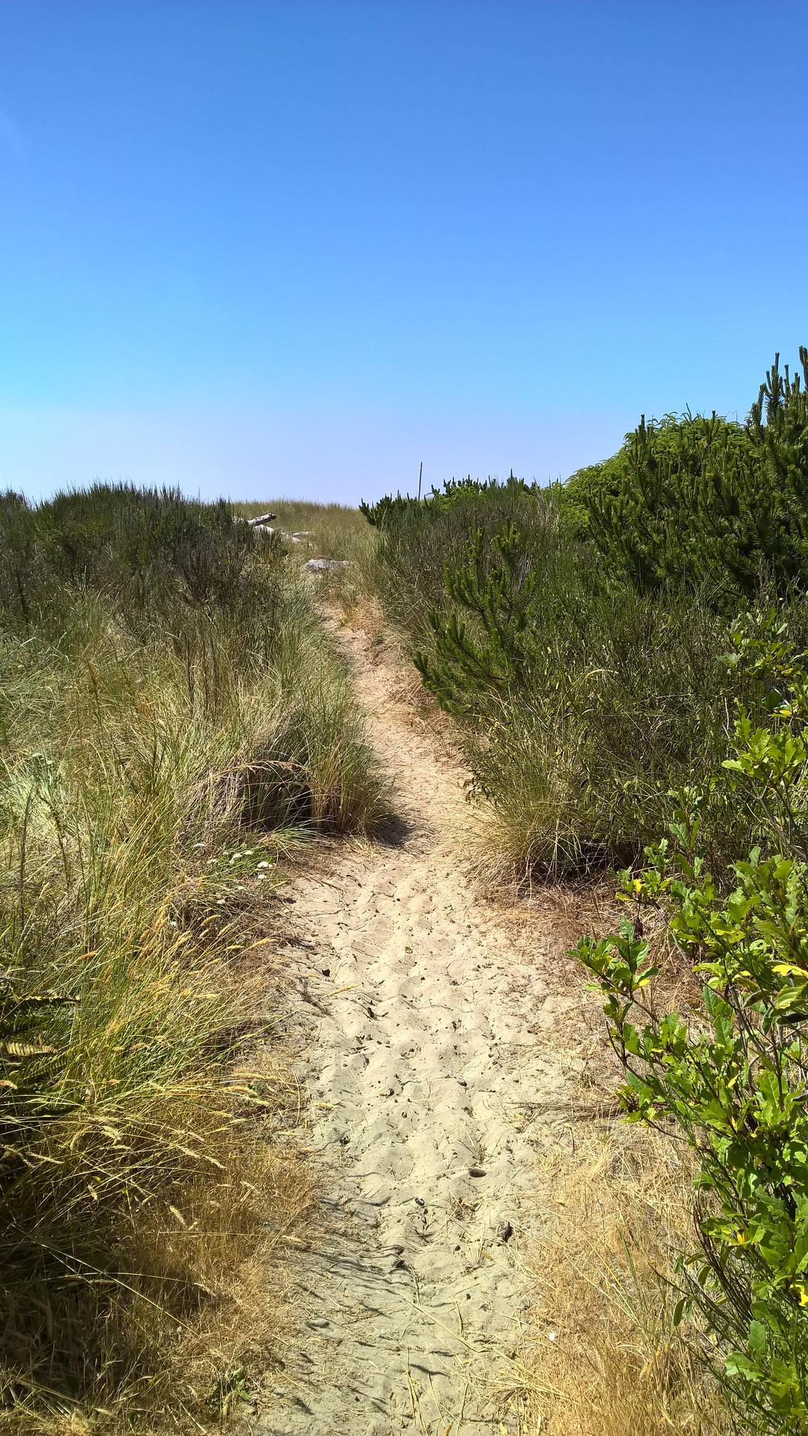 20150701b Path to the beach