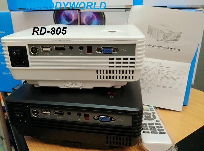 Original rd805 mini s end 7 30 2015 2 15 pm for Mini projector for presentations