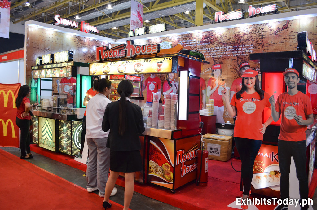 Sgt. Sisig, Noodle House and Siomai King Exhibit Stand
