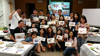 Awesome participants in my Wet & Wild with Texture class during our USK symposium.