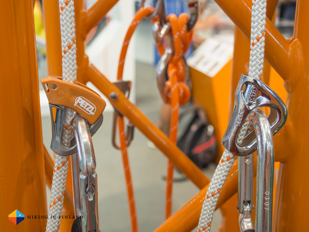 Petzl TIBLOC New & Old