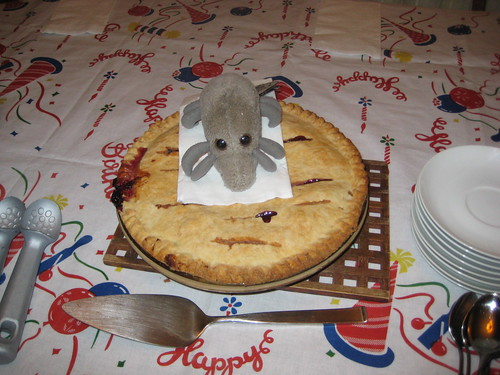 Dust Mite & birthday pie