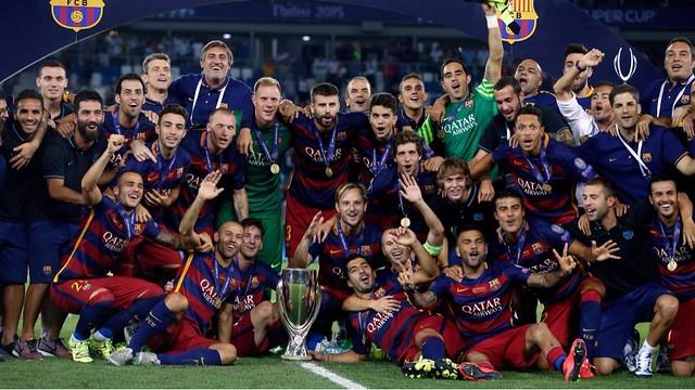 SuperCopa de Europa: FC Barcelona 5 - Sevilla 4
