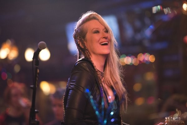 Meryl Streep is the only particularly good thing in RICKI AND THE FLASH.