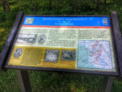 Monocacy Aqueduct- C & O Canal- Frederick County MD (13)
