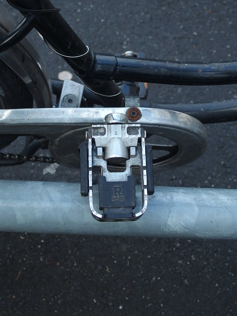 Found Pedal Face