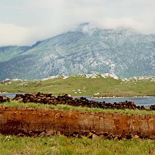 Cut-away Peatland, Highlands, Scotland