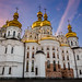 Kiev Pechersk Lavra at Sunset by lucien_photography