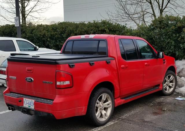 2008 - 2010 Ford Explorer truck